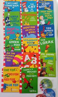 Brand new Dr Suess reader set