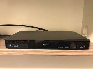 Panasonic 4K倍線3D藍光碟播放機