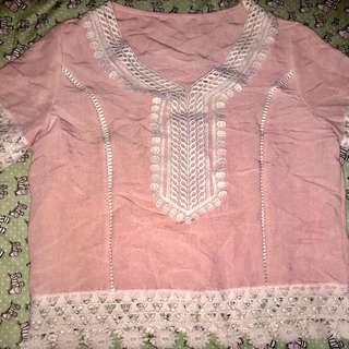 crop pink
