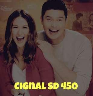 Cignal SD 450