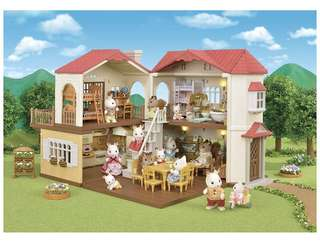 *NEW* Sylvanian Families/Calico Critters Red Roof Country Home