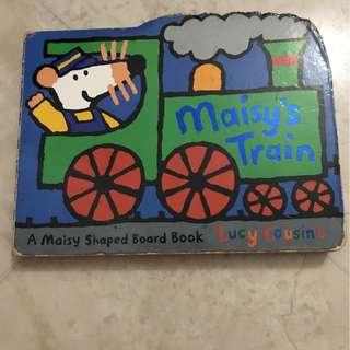 Maisy's Train hard cover children's story book