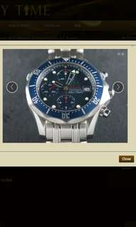 OmegaSeamaster Diver 300 Meters Chronograph 41.5 mm
