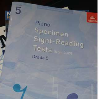 Sight-reading Music Book
