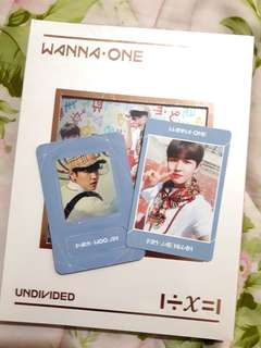 WTT/WTS Wanna One Woojin Magnet and Jaehwan PC