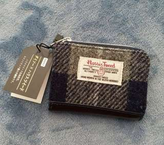 Harris Tweed card & coins holder - 卡片及散子包