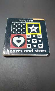 Baby Sees - hearts and stars
