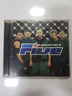 CD - Five Invincible