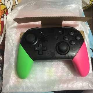 Switch 二手 行貨 漆彈版 pro controller