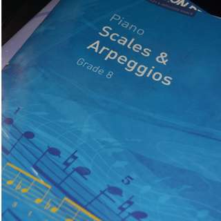Piano Scales and Arpeggious