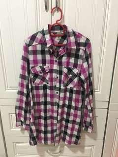 Buy3 Free1 ‼️Checkered Shirt