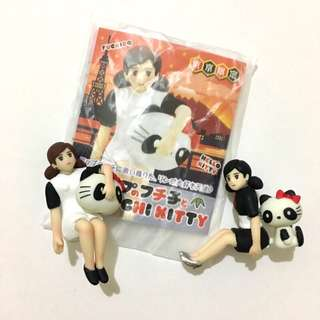 HelloKitty x 杯緣子 東京限定 東京熊貓 kitty杯緣子 隱藏版杯緣子 盒玩