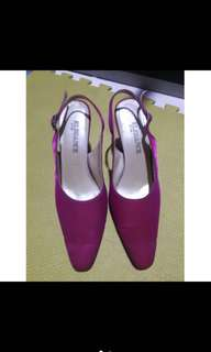 Elegance Fuchsia Pink Formal Shoes Size 38