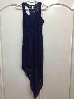 Hi-Low Lace Dress