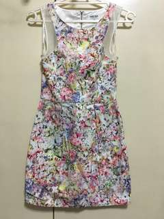 *REPRICED* Evernew Leanna Printed Dress
