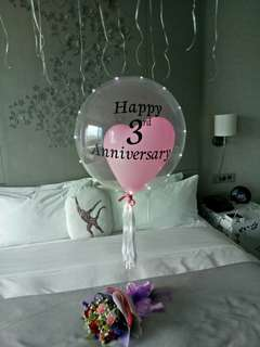 """24"""" Personalised Bubble balloon"""