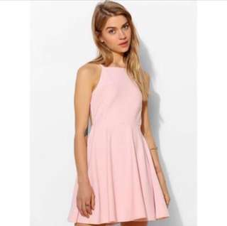 Pink Halter Dress (New)