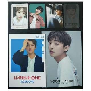Wanna One Yoon Ji Sung Stock Clearance