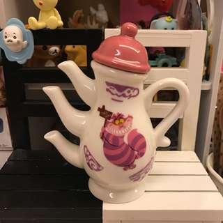 🚚 全新 日本迪士尼樂園愛麗絲夢遊仙境妙妙貓醬油壺