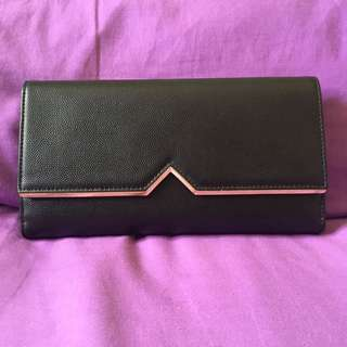 dompet charles and keith hitam + box