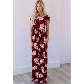 Floral Maxi Dress - COD