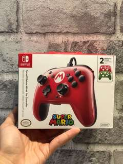 [NEW] Nintendo Switch Faceoff Deluxe Wired Pro Controller