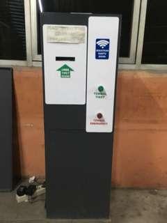 Automatic palang parkir machine (kantor)