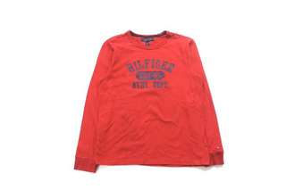 Distressed Tommy Hilfiger Long Sleeve