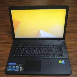 【出售】ASUS X751M 四核心 17.3吋 筆記型電腦