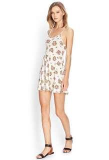 Forever 21 Cluster Floral Cami Dress