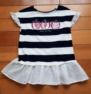 🚚 全新Anna Sui Mini女童傘狀洋裝式上衣