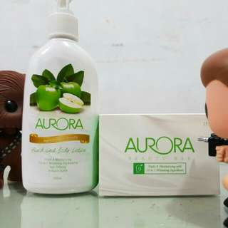 Aurora Beauty Soap and Body Lotion
