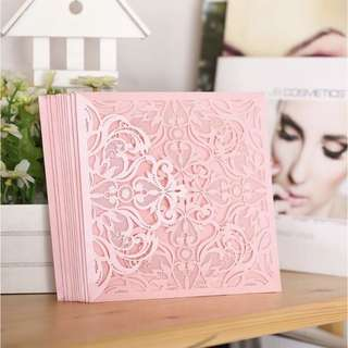 275- 10Pcs Lace Card Design