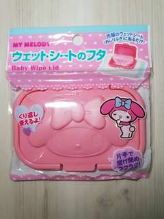 My Melody Baby Wipes Lid