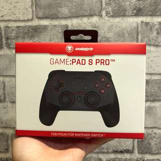 [NEW] Nintendo Switch Snakebyte Gamepad S Wireless Pro Controller