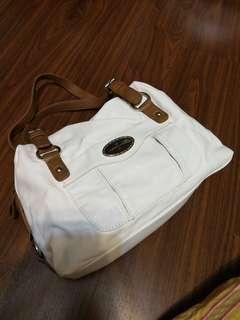 Womens white handbag