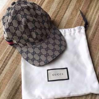 🐰Gucci cap with dust bag 男女同款 帽 連塵袋