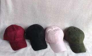 UNISEX SUEDE CAP 💗💗