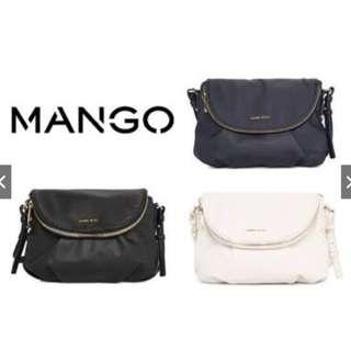 MANGO TOUCH FLAP SLING BAG