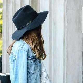 Black Gia Hat