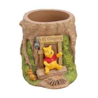 Disney 迪士尼 Pooh 維尼 3D 樹型 筆座