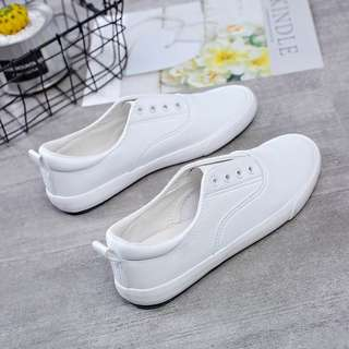 Korea Leather White shoes Free Delivery Nationwide