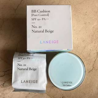 Laneige BB Cushion (Pore Control) PRELOVED
