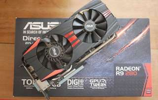 Graphics Card Radeon R9 280