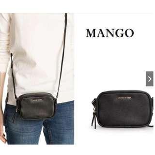 MANGO MINI ZIP SLING BAG