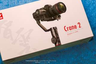 (Negotiable) ZHI YUN Crane2 (New) • Selling Fast •   Year Warranty Included!