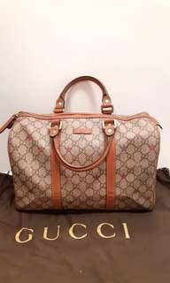 Gucci 手袋(Gucci Boston bag GG plus beige / pink multicolor stars design)