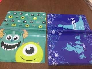 廸士尼怪獸公司& FROZEN冰雪奇緣旅行護照保護套