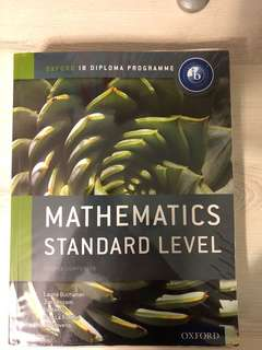IB Maths SL Course Companion (Oxford University Press)
