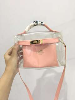 Mini Hermes jelly bag